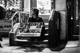 """Il volto dei newyorchesi nei """"Free Portrait"""" di Gianluca Vassallo"""