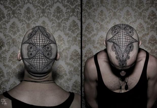DotsToLines,tatuaggio dotwork