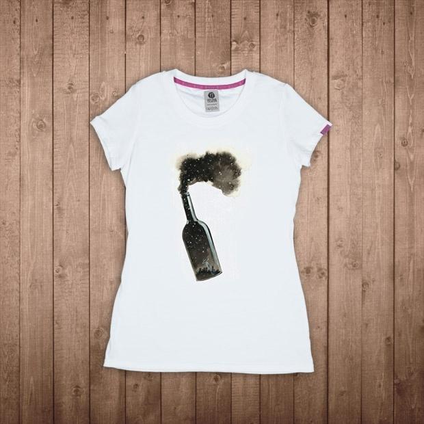 L'arte di Gabriele Pais sulle T-shirt YESEYA