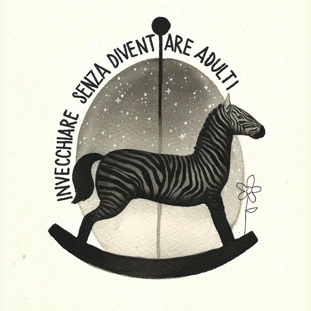 Gabri Pais, Zebra a dondolo