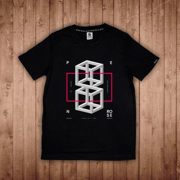 Penrose, Gunta, Randomness: Simone Deiana, ArpXP, su T-shirt YESEYA