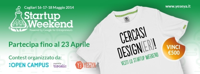 Contest Startup Weekend 2014: vesti l'evento e vinci €500!