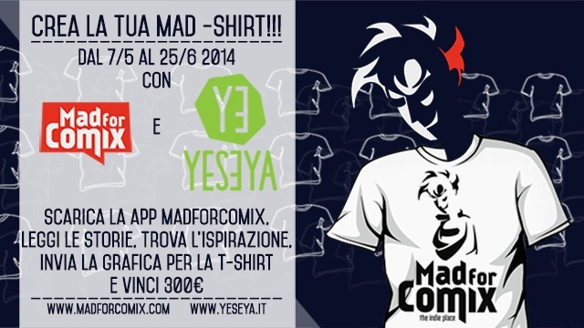 Secondo contest YESEYA: una sfida all'ultimo comics!