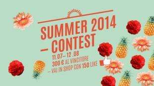 "11/7 - 12/8, crea il design dell'estate e vinci il contest ""Summer 2014"""