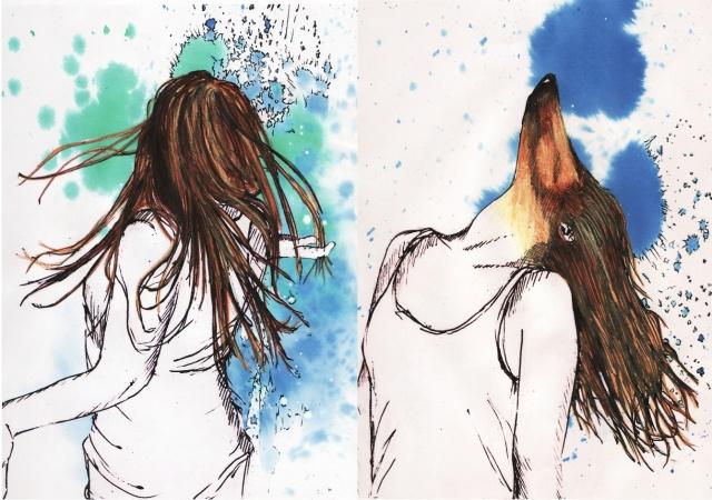 Giallo e turchese, le personalità di Emma Jennings, illustratrice di Londra