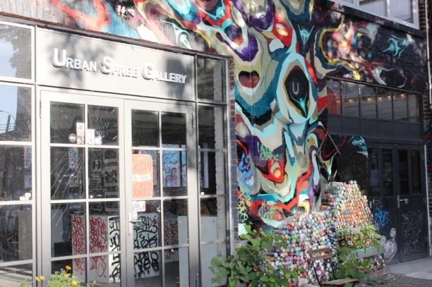 ono sempre molto frequentate ed è proprio il via vai degli artisti a conferire all'Urban Spree un'atmosfera tutta speciale, che viene percepita sia da chi vive lo spazio che da chi lo frequenta con la curiosità di un semplice osservatore.
