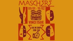 Maschere: il nuovo contest YESEYA veste il Carnevale. Vinci fino al 19/02!