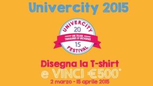 Univercity 2015 su T-shirt: vinci il contest e guadagna 500 EURO